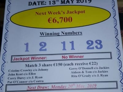 Park Lotto 13th May